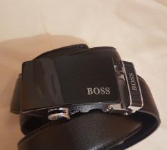 Hugo Boss Usnjen Moški Pas | NOV