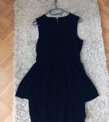 H&M kratka modna peplum oblekica 38