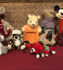 Plišaste igrače-različne (ugodno prodam)