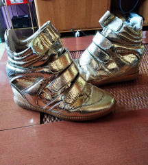 Zlate wedges