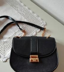 črna torbica - chloe replika