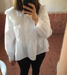 NOVA Zara bela bluza