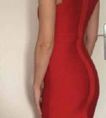 Bandage rdeča obleka