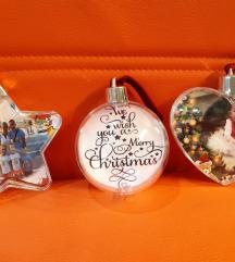 Unikatne božične kroglice