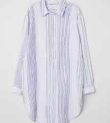 Dolga lanena srajca še z etiketo