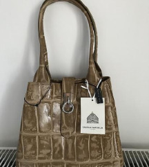 Original nova usnjena Luisa Spagnoli torba