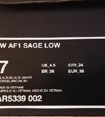Nike Air Force Sage Low- cisto nove