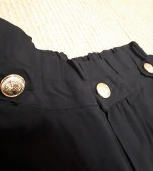Elegantne oprijete hlače m/l