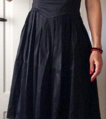 Svečana črna oblekca XL