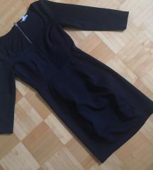 h&m črna elegantna obleka