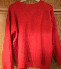 Zara pulover živo rdeč
