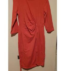 Oranžna tunika/obleka Two way
