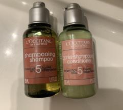 Šampon+balzam Loccitane
