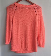 Neon koralen pulover H&M