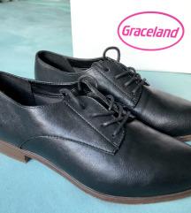 Novi ženski črni čevlji