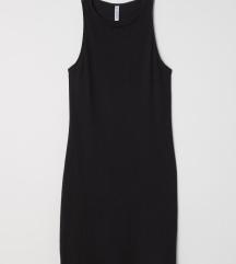 NOVA z etiketo črna obleka M