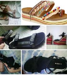 poletni sandali,različni,ugodno,38-39