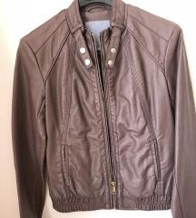 Silvian Heach jakna - pravo usnje MPC 110€ xs