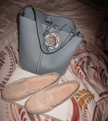 torbica parfois +čevlji  št.39