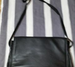 Usnjena torba, nova, za A4 zvezke
