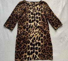 Obleka s tigrastim vzorcem Zara