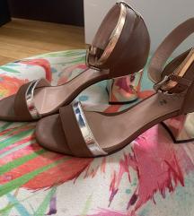 Usnjeni sandali Pollini (mpc 300 eur)