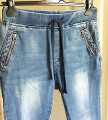 Jeans hlače visok pas