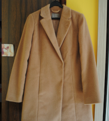 Orsay NOV teddy camel coat plašč
