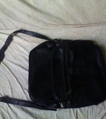 velika črna torba,tudi za prenosnik