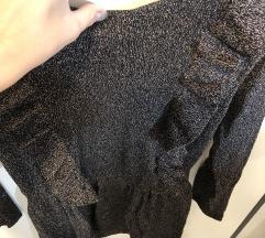 Bronze volančkast pulover