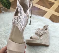 Sandali s polno peto (25 cm notranje dolžine )