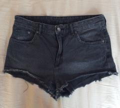 temno sive denim kratke hlače +ptt