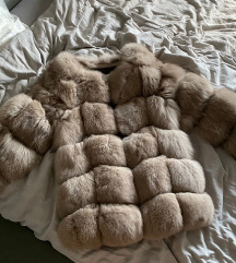 Sections Fox Fur Coat