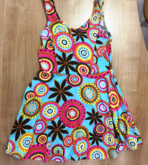 Barvna poletna oblekica - one size
