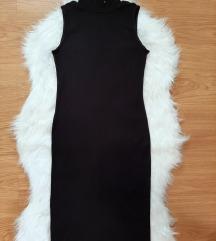 Obleka casual H&M črna S/M
