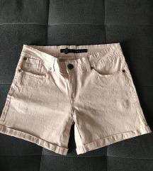 NOVE dusty rose kratke hlače z elastanom