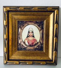 Dve sliki: Boginja Lakshmi & Parashakti Devi
