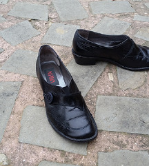 ALPINA št. 38 pravo usnje čevlji