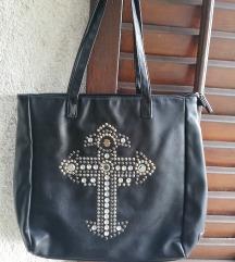 Velika crna torbica