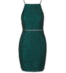 Obleka Topshop zelena 34