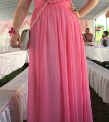 Svečana roza obleka