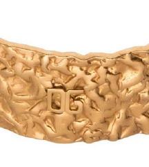 🌹ZNIŽANO.Dolce&Gabbana masivna zlata zapestnica