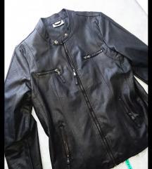Mega usnjena jakna L