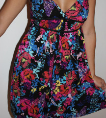 Poletna pisana obleka H&M, S