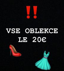 OBLEKCE LE 20€