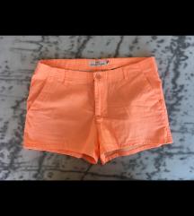 Oranžne kratke hlače S