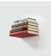 Nevidna polička za knjige