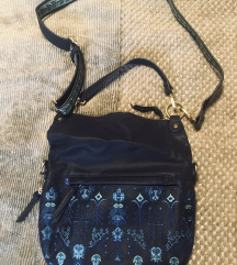 Temno modra Desigual torbica