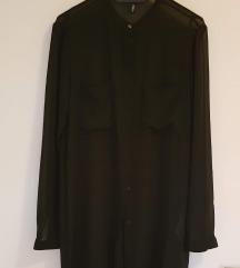črna dolga prozorna bluza S'Oliver