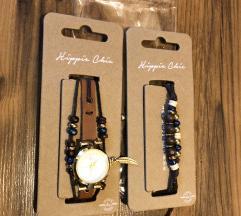 Komplet ura in zapestnica-novo in zapakirano